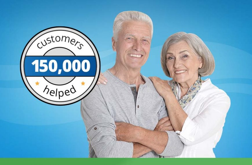 Over 150,000 Customers Helped Nationwide!