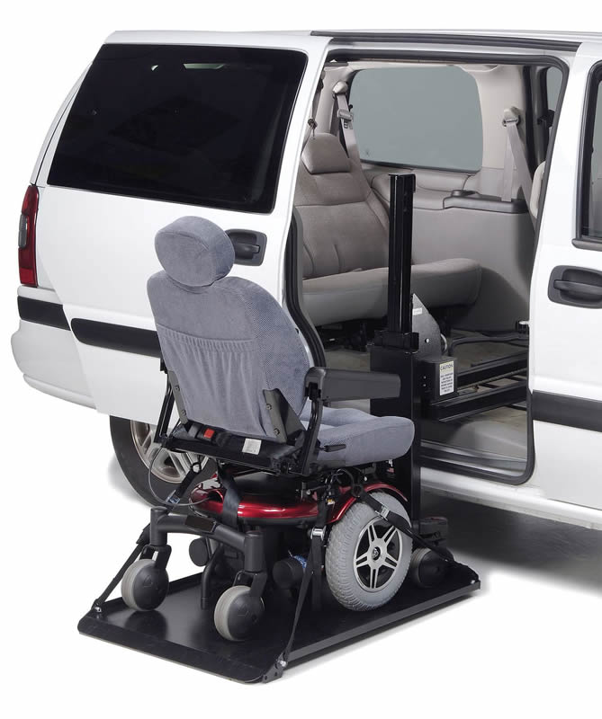 Wheelchair Lift For Car >> Side Loading Hybrid Platform Lift
