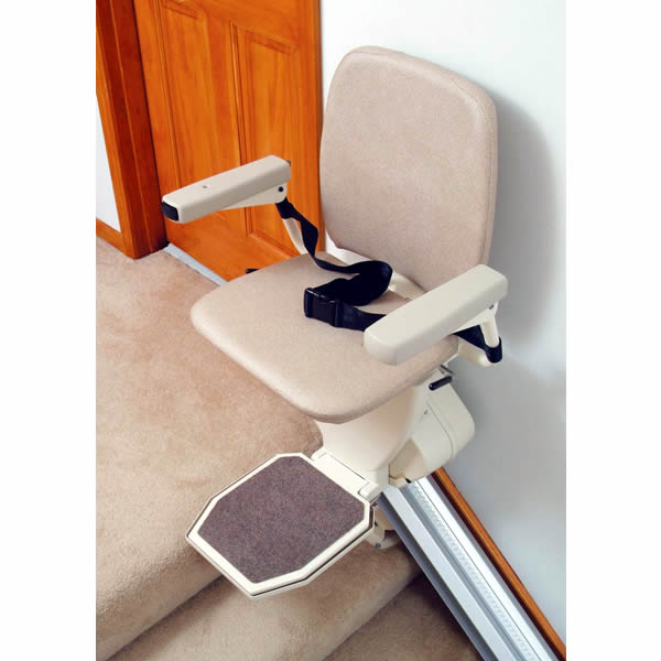 Title for Motorized stair chair lift