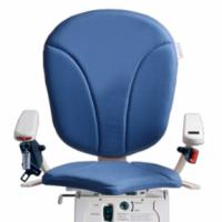 Blue AmeriGlide Platinum Stair Lift Chair Option