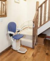 AmeriGlide Platinum Curved Approved Stair Lift - Used