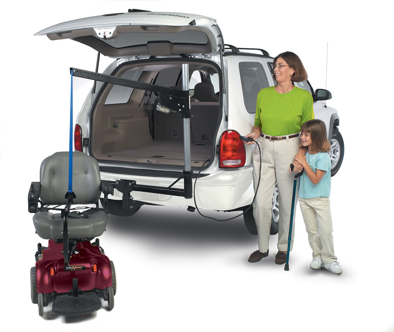 wheelchair lift for car. Micro Inside-Outside Lift Wheelchair For Car