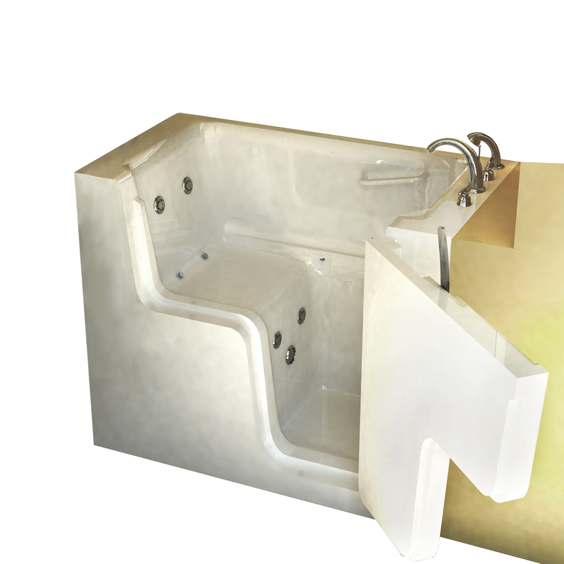 Sanctuary Medium Wheelchair Access Walk-In Tub | AmeriGlide Walk In Tubs