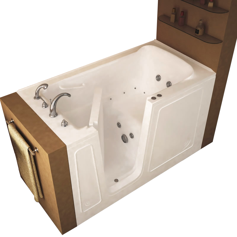 whirlpool white walkin ft walk right bath bathtubs p in universal tub tubs drain