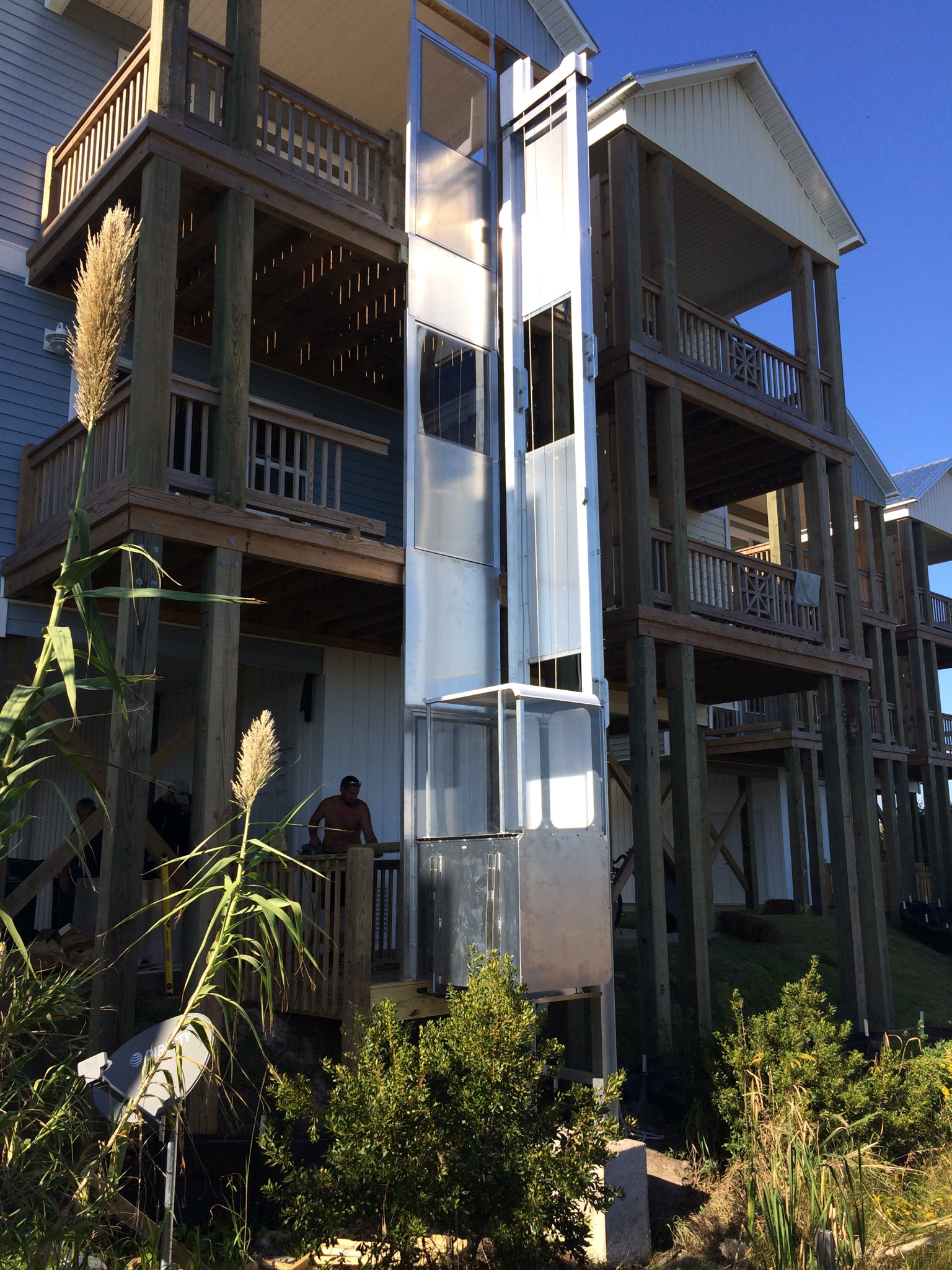 Ameriglide Outdoor Residential Elevator Ameriglide