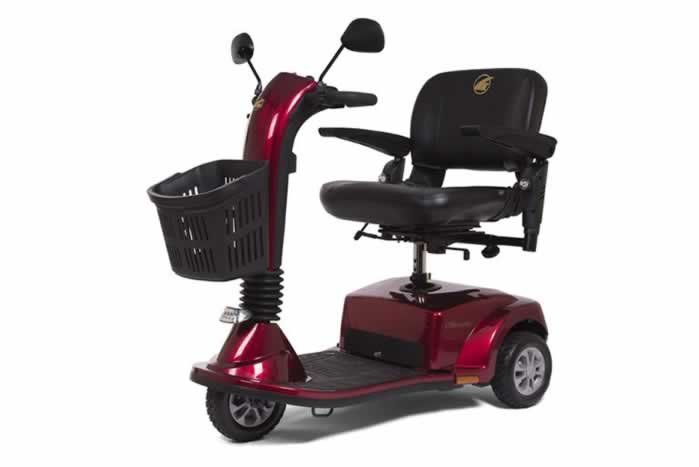 Golden Companion - Midsize 3 Wheel Scooter