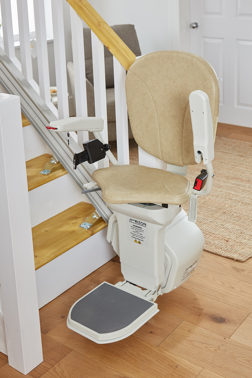 Battery Power Stairlift AmeriGlide Horizon Stair Lift