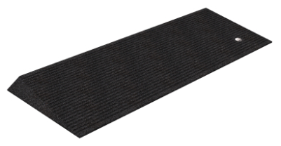 "1.5"" Tall Rubber Beveled Threshold Ramp (Box of 2)"