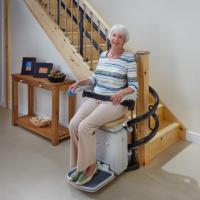 AmeriGlide Imperial Curved Commercial Stairlift